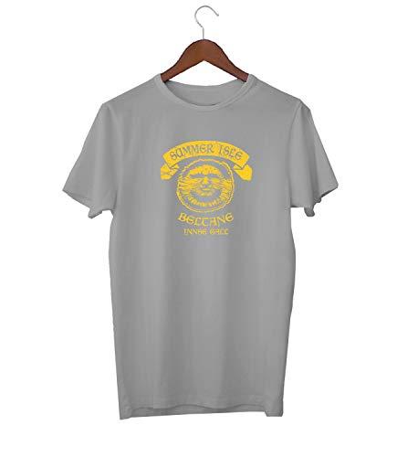 The Wicker Man Sunlight Logo_KK017052 Shirt T-Shirt für Männer Herren Tshirt for Men Gift for Him Present Birthday Christmas - Men's - Medium - White - Man-shirt Wicker