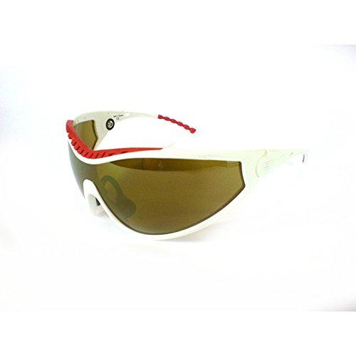 Briko VINTAGE Sportbrillen Sonnenbrille Unisex X-PEED DUO weiß rot 014169D4