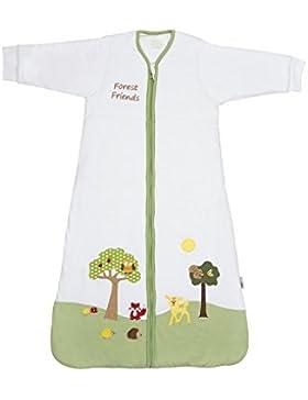 Schlummersack Ganzjahres Babyschlafsack mit langen Ärmeln in 2.5 Tog - erhältlich in verschiedenen Größen und...