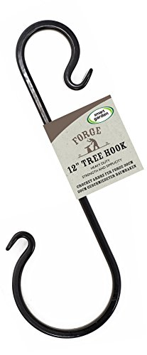 Forge Tree Hook 30cm for Hanging Baskets & Bird Feeders by Smart Garden
