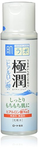 Rohto Hadalabo Gokujyn Hyaluronic Acid Lotion (Moist) - 170ml -