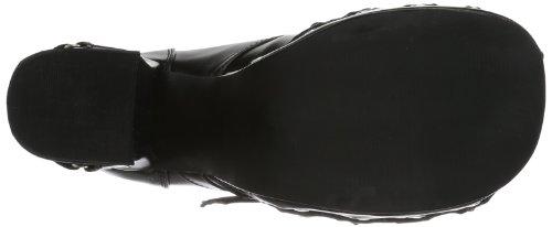 Demonia Charade-35, Scarpe Col Tacco Donna Nero (Schwarz (Schwarz))