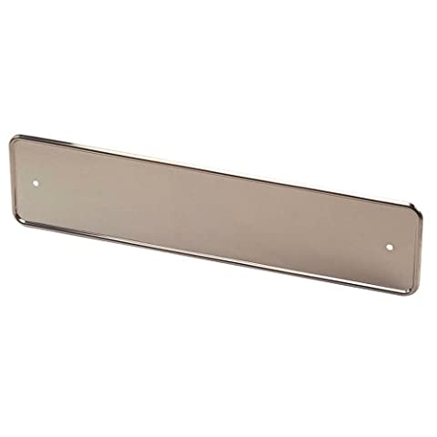 Autostyle AS NP02 Porte-plaque Inox