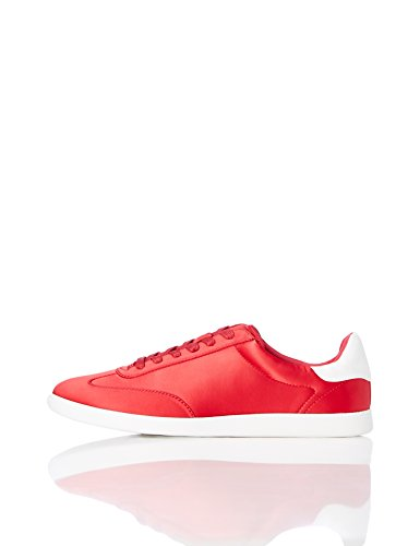 FIND Retro V0338, Sneaker, Rot (Red NSCCF1791-0044-03G), 37 EU (4 ) (Sneaker Fashion)