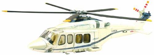 """NewRay 25603 - Modell-Militärhubschrauber \""""Agusta-Westland AW139\"""" 1:48, weiß"""