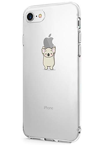 53856f4ad6c Caler Funda iPhone 7 iPhone 8 Case, Suave TPU Gel Silicona Ultra-Delgado  Ligera