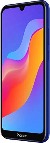 Honor 8A - Smartphone Libre (Pantalla táctil HD + LCD de 15,47 cm (6,09 Pulgadas), Memoria Interna de 32 GB, cámara Principal de 13 MP, Android 9), Color Azul