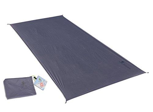 GEERTOP Schutzplane Zeltplanen Zeltunterlage - 210 X 90 CM (110g) - 20D leichte wasserdicht für Zelt Wanderungen Camping Picknick