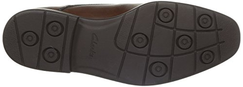 Clarks Glenrise Over, Scarpe Derby con lacci uomo Marrone (Walnut Leather)