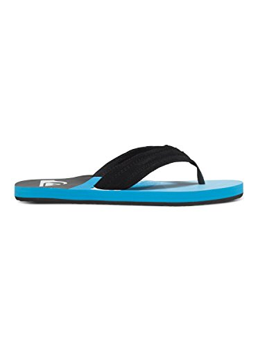 Quiksilver Basis, Tongs Homme Noir - Black/Blue/Blue