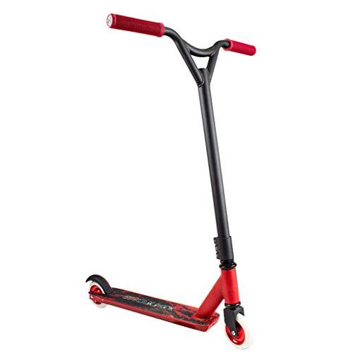 JY-Patinete Pro Stunt Freestyle Scooter - Kick Push Complete Park Scooter - para Principiantes/Amateurs y Jinetes avanzados - Deck Reforzado para Regalo de Alto Rendimiento - Soporta hasta 330 lbs
