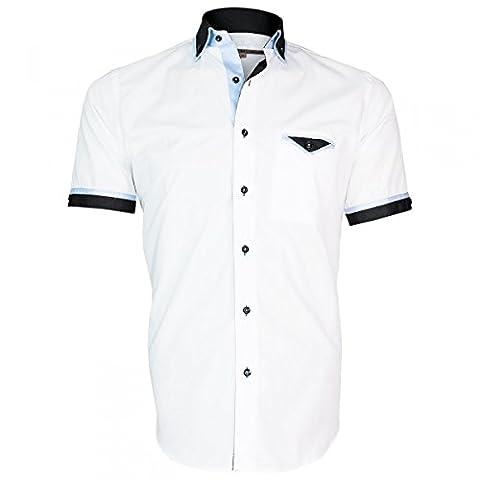 Chemisette Bicolore - chemisettes mode conventry blanc - Taille