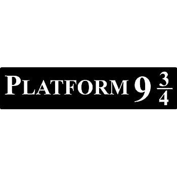 picture relating to Platform 9 3 4 Sign Printable named FSSS Ltd Plastic system 9 3/4 indicator plaque Harry Potter