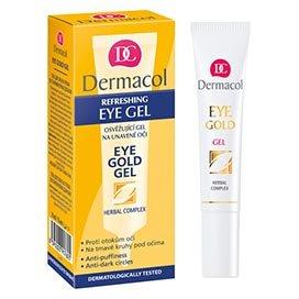 Dermacol Gold Gel Contour des Yeux 15 ml