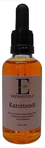 Bio-karotten-Öl (Oilpure Bio Karottenöl mit Glaspipette - 100% pure Natur 50ml / Güteklasse A)