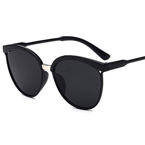 Holeider Sonnenbrille Damen Groß - Unisex Retro Vintage Sonnenbrille im angesagte 60er Browline-Style - Unisex Damen und Herren Brille