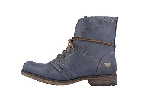 Mustang  1139-610,  Damen Stiefel Blau