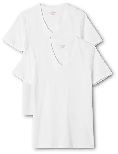 Daniel Hechter Herren Doppelpack T-Shirt, Weiß (weiß 01), XX-Large (2er Pack)