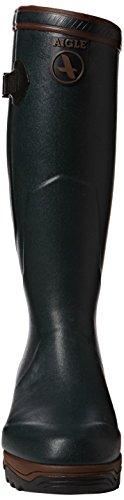 Aigle Parcours 2 Iso Unisex-Erwachsene Langschaft Gummistiefel Grün (Bronze 7)