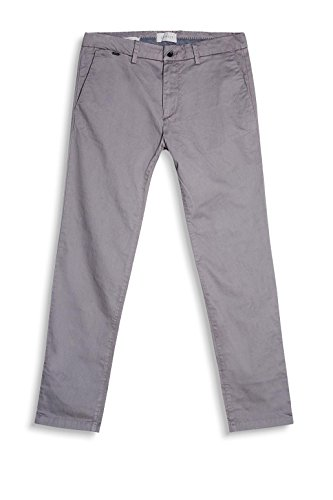 ESPRIT Collection Herren Hose Grau (Grey 030)