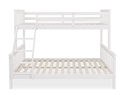Home Detail Wooden Children's Triple Sleeper Bunk Bed Frame | Choice of 3 Colours