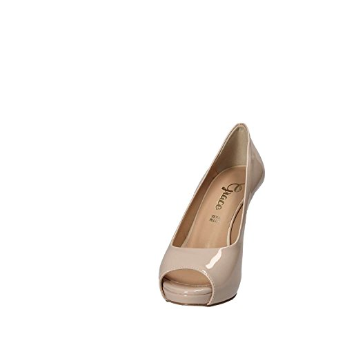 Chaussures Grace 9815 Decollete Donna Nero