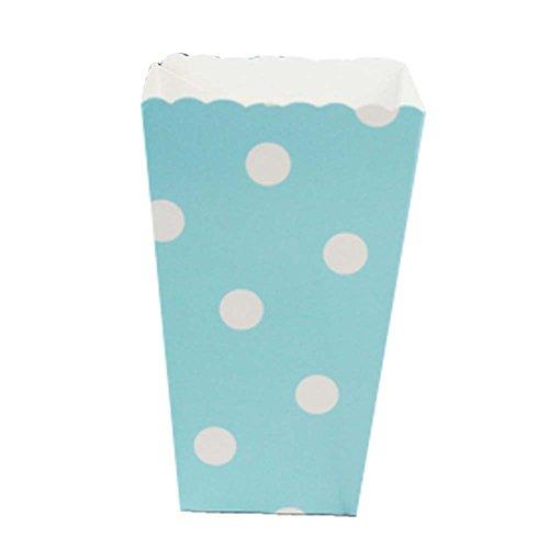 Eimer Snack Cups für Mottoparty, blaue Punkte ()