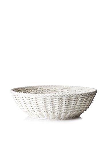 Seletti – La Poubelle, Porcelaine, Blanc, 42 x 14 cm