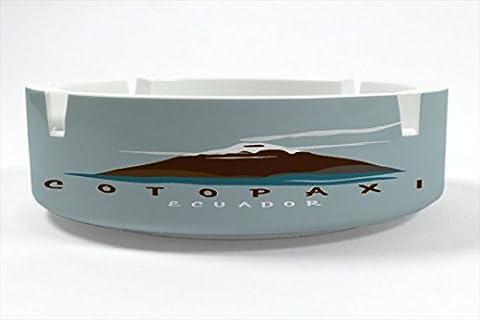 Ashtray Globetrotter Cotopaxi Ecuador printed