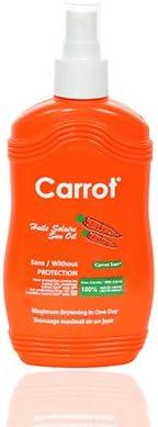 Carrot Sun Tanning Oil