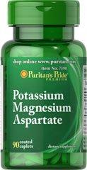 Puritan's Pride Potassium Magnesium Aspartate 60 Tabletten 7390 from Puritans Pride