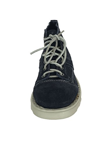 O.X.S. Wale Vintage Suede mid Shoes with Lightweight Crepe color Blue blue