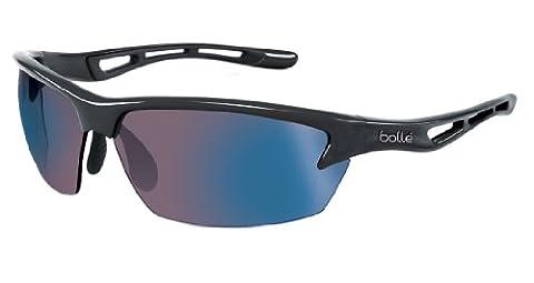 Bolle Bolt Rose blue Oleo Sunglasses - Satin Crystal Smoke, Medium