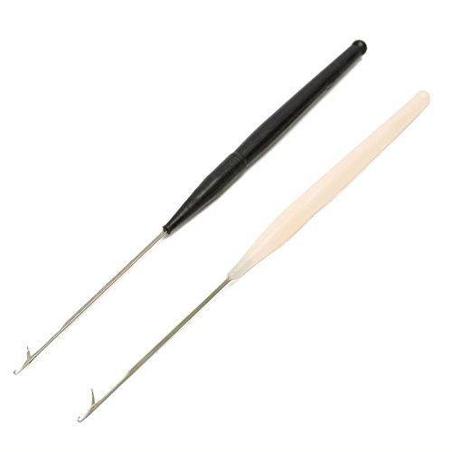 Häkelnadel Lock-Verriegelung Micro Haar Bearded Nadel Teppichknüpfen, stricken Interlock von Zubehör Dachboden® (Aus Interlock Nadel)