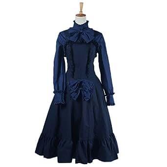 Le costume lolita robe cosplay le bloc-notes du ciel alice yuko - Female - Costume