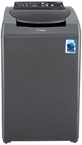 Whirlpool 6.5 kg Fully-Automatic Top Loading Washing Machine (Stainwash Deep Clean 6.5, Grey)