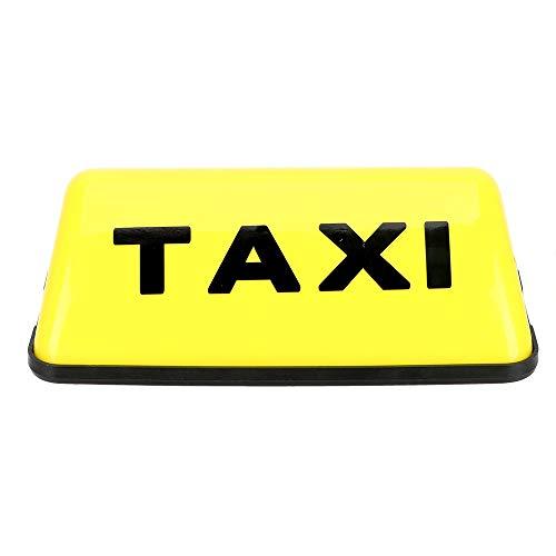 Voiture Taxi Toit voyant lumineux Jaune Étanche