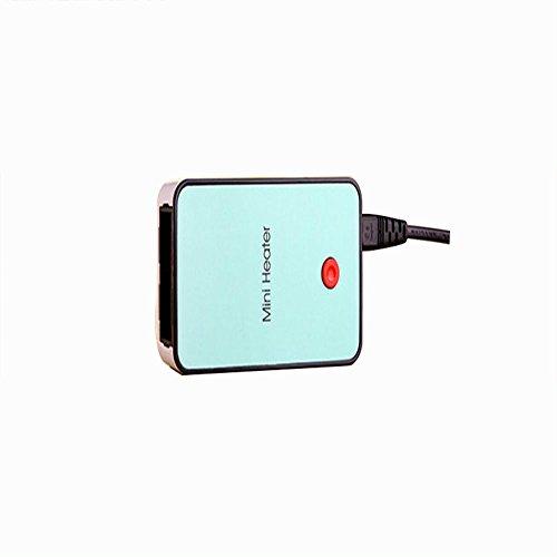 Inverno esplosione Paragrafo Macchina termica,ANGTUO portatile Desktop Mini riscaldatore ventilatore freddo Ufficio riscaldatore dello scaldino