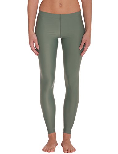 iQ-UV Damen 300 Leggins, Badehose lang Leggings, Olive, XL (44)
