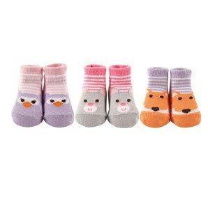 Luvable Friends Animal Face Baby Socks Gift Set