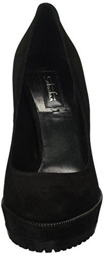 Sebastian - S7253, Scarpe col tacco Donna Nero (Schwarz (VEL Ner/Nk))