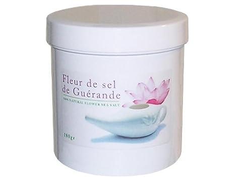 Fleur de sel de Guérande 100% naturel - 180gr