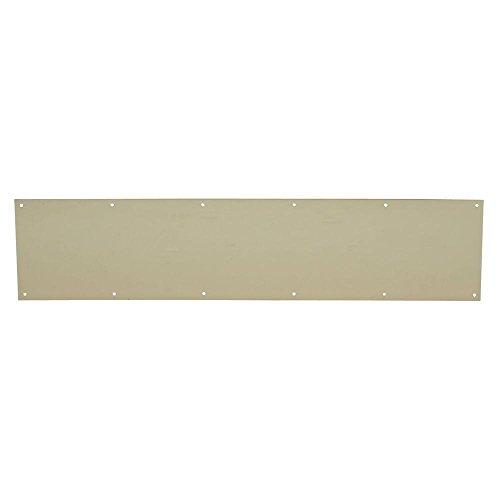 Schlage Lock Company sc8400Pa36x 34H.B. Ives Kick Platte 15,2x 86,4cm Bright Messing Finish Aluminium für Gebrauch auf Holz oder Metall Türen