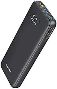Charmast Power Bank PD 23800mAh USB C 18W Power Delivery Portable Charger LED Display Battery Pack with 2 Inpu