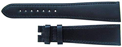 Authentisches Omega Uhrenarmband 22mm Omega Schwarz Kalb, XL
