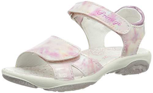 Primigi pbr 33889, sandali a punta aperta bimba, (rosa multicolor 3388900), 27 eu
