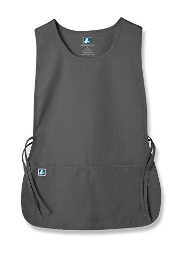 Adar Uniforms Unisex Arbeitsschürze mit Taschen für Schönheit und medizinische Berufe 702 Color PWR | Talla: (Berufe Uniformen Kostüm)