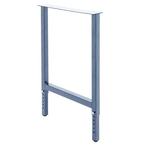 2 x Werktischbeine Höhenverstellbar