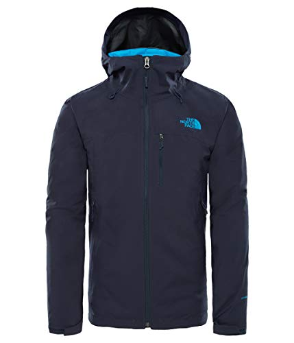 THE NORTH FACE Herren Thermoball Triclimate Jacke Urban Navy Heather/Hyper Blue L