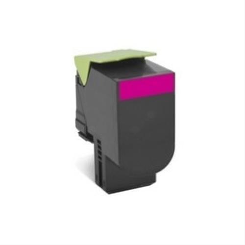Lexmark 70C20M0 Return Program Toner Cartridge, magenta
